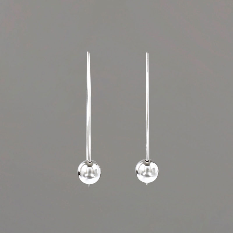 V Wire Earring from Front