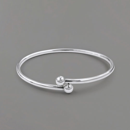 Crisscross Bangle Bracelet