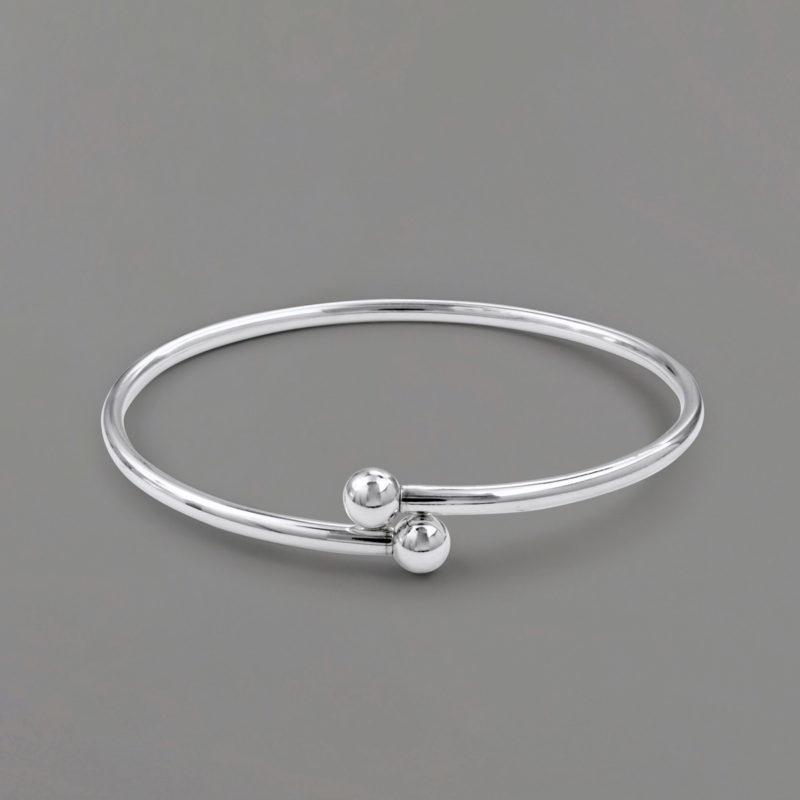 Crisscross Bangle Bracelet