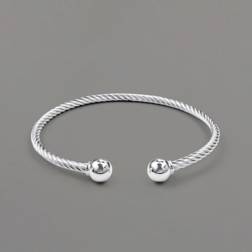 Twisted Open Cuff Bracelet