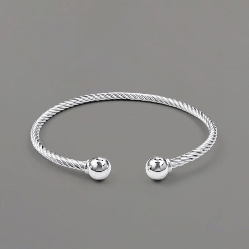 Twisted Open Cuff Bracelet